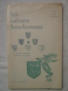 Les cahiers bourbonnais, n°40