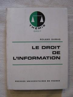 Le droit de l'information