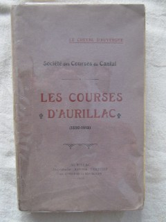 Les courses d'Aurillac (1820-1913)