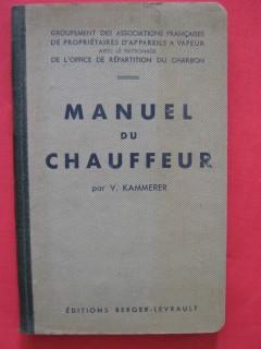 Manuel du chauffeur
