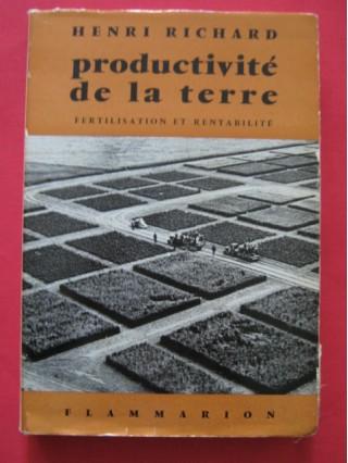 Productivité de la terre, fertilisation et rentabilité
