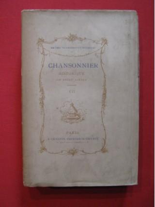 Chansonnier historique du XVIIIe siècle, Tome VII