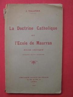 La doctrine catholique et l'école de Maurras