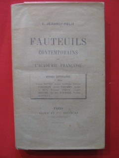 Fauteuils contemporains de l'Acamémie française, 2e série