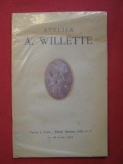 Catalogue des tableaux aquarelles & dessins de l'atelier Wollette