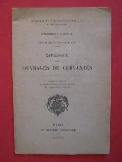 Catalogue des ouvrages de Cervantès