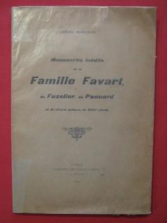 Manuscrits inédits de la famille Favart, de Fuzelier, de Pannard et de divers auteurs du XVIIIe siècle