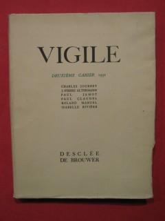 Vigile, deuxième cahier