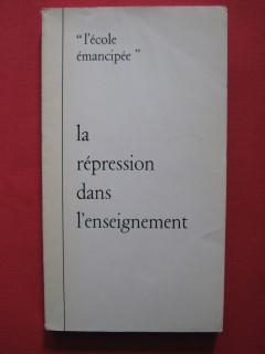 Le répression dans l'enseignement