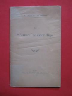 Le Ronsard de Victor Hugo