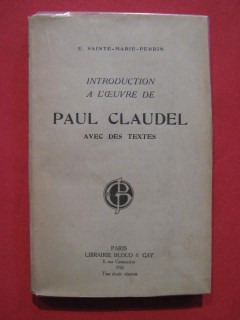 Introduction à l'oeuvre de Paul Claudel