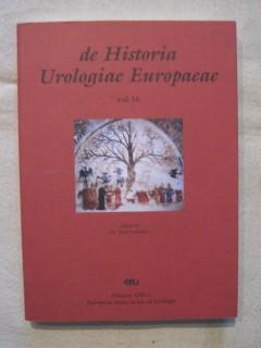 De historia urologiae europaeae, vol 16