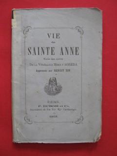 Vie de saint Anne