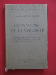 Dictionnaire de la volonté