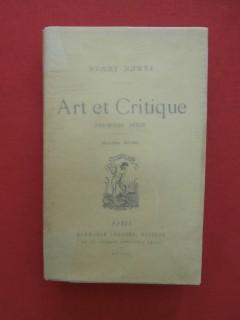 Art et critique