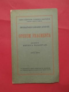 Operum Fragmenta