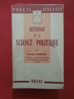 Méthode de la science politique