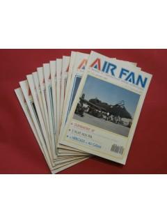 Air fan, mensuel de l'aéronautique militaire internationnale, 1988