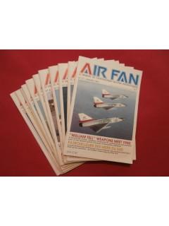 Air fan, mensuel de l'aéronautique militaire internationnale, 1981