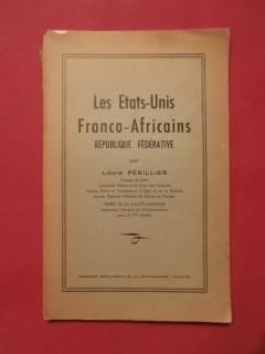 Les états unis franco-africains, république fédérative
