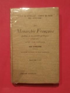 La monarchie française, lettres et documents inédits (1844-1907)