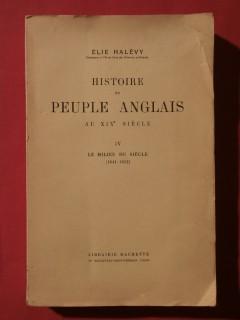 Histoire du peuple anglais au XIXe siècle, T4, le milieu du siècle (1841-1852)