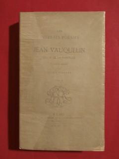 Les diverses poésies de Jean Vauquelin, sieur de la Fresnaie, T2