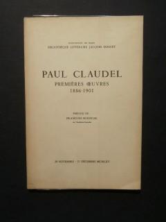 Paul Claudel, première oeuvres, 1886-1901