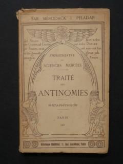 Traité des antinomies