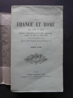La france et Rome de 1700 à 1715