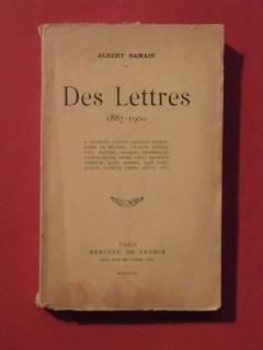 Des lettres (1887-1900)