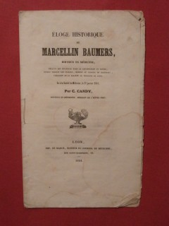 Eloge historique de Marcellin Baumers, docteur en médecine