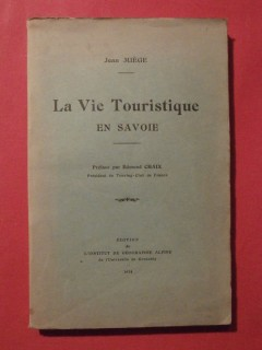 La vie touristique en Savoie
