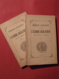 Histoire de la ville d'Evian, 2 tomes