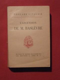 L'ascension de M. Baslèvre