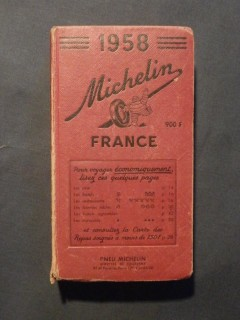 Guide Michelin France 1958