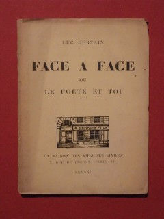 Face à face ou le poète et toi