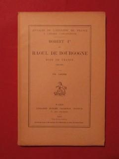 Robert 1er et Raoul de Bourgogne, rois de France