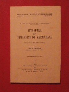 Sivasutra et Vimarsini de Ksemaraja