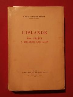 L'Islande, son statut à travers les âges
