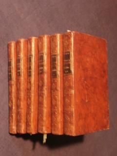 Julie ou la nouvelle Héloyse, lettres de deux amans habitants d'une petite ville aux pieds des Alpes, 6 tomes