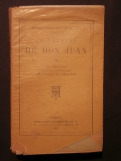 La légende de Don Juan, tome 1