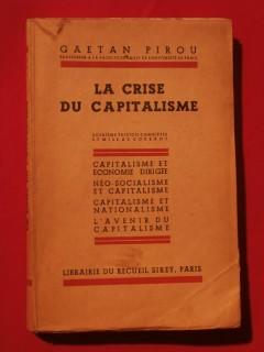 La crise du capitalisme