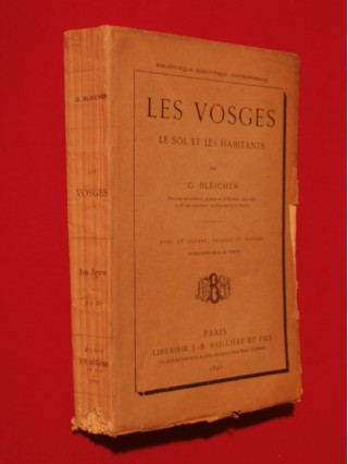 Les Vosges, le sol et les habitants