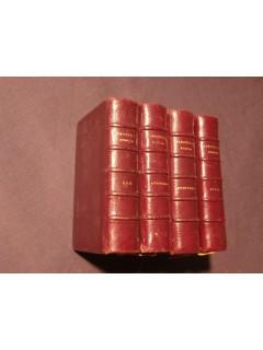 Paroissien romain trés complet, 4 tomes