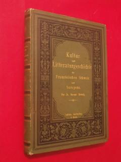 Kultur und Litteraturgeschichte der französischen Schweiz und Savoyens