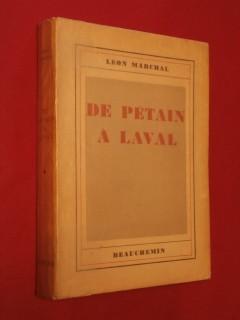 De Pétain à Laval