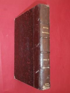 Revue savoisienne, année 1911-1912