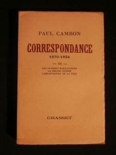 Correspondance, tome 3, 1870-1924