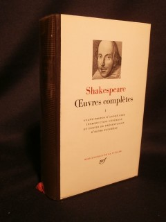 Oeuvres complétes, tome 1